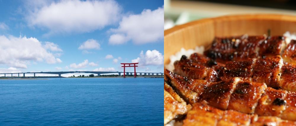 浜松市の名物 浜名湖とうなぎ、浜松餃子